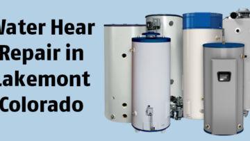 Water Hear Repair in Lakewood Colorado