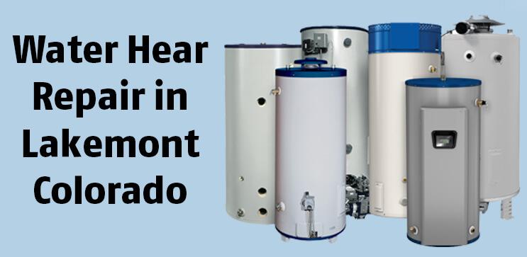 Water Hear Repair in Lakemont Colorado